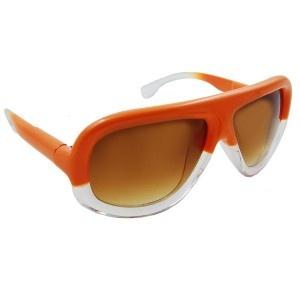 Orange Ombre Oversize Sunglasses -  #WinSupergaWithRitaOra