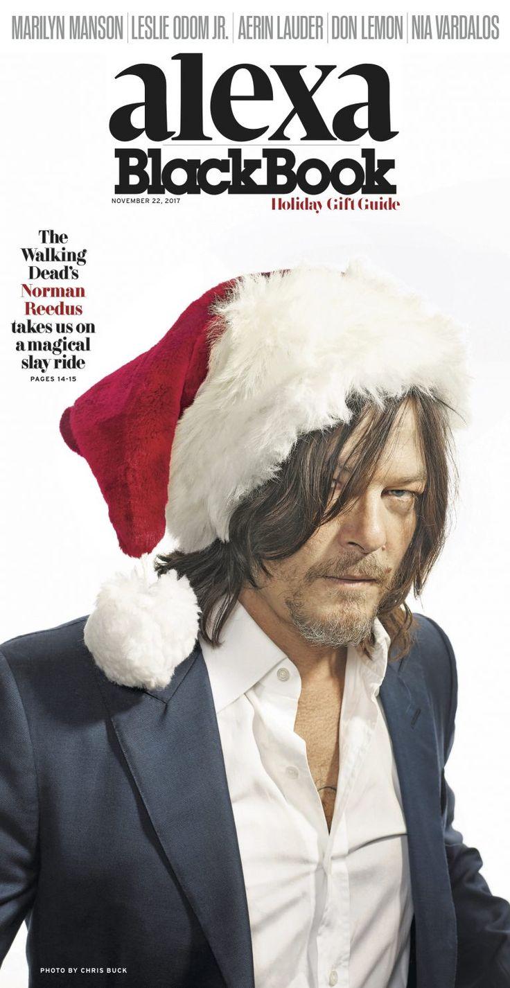 alexa BlackBook: The Naughty List: 'Walking Dead' Star Norman Reedus Gets into the Holiday Spirit with Marilyn Manson - BlackBook