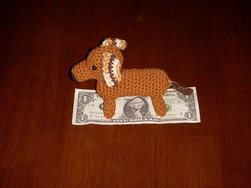 Weiner Dog pattern by miller3602