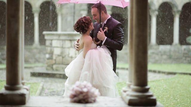 I ricordi si raccontano.  La sposa che in un bellissimo giorno di  pioggia e' stata il sole l'allegria e l'amore fatti persona.