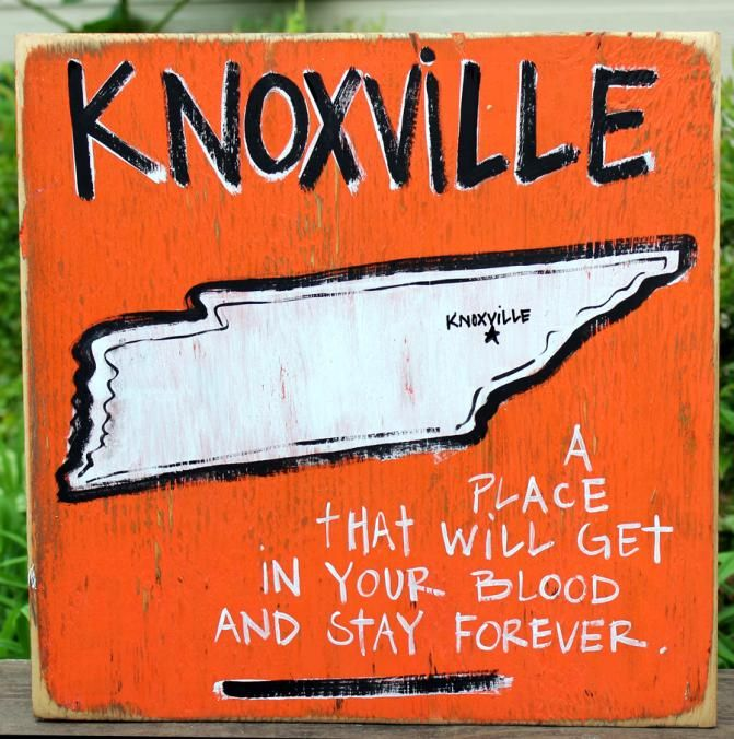 Southern College Towns Hand Painted Wood Signs