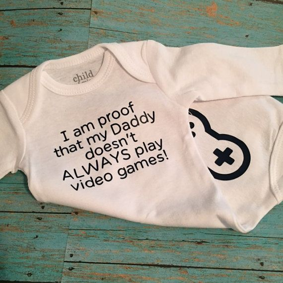 I Am Proof That My Daddy Doesn't Always Play Video by GGWDesigns