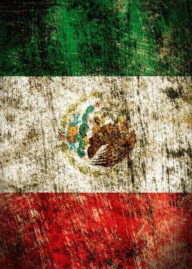 flags flag mexico bandera de mexico Vintage