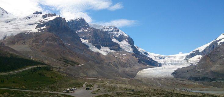 Canada : Le glacier Athabasca