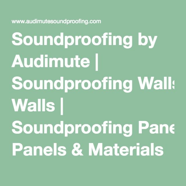 17 best ideas about Soundproof Panels on Pinterest | Soundproofing ...