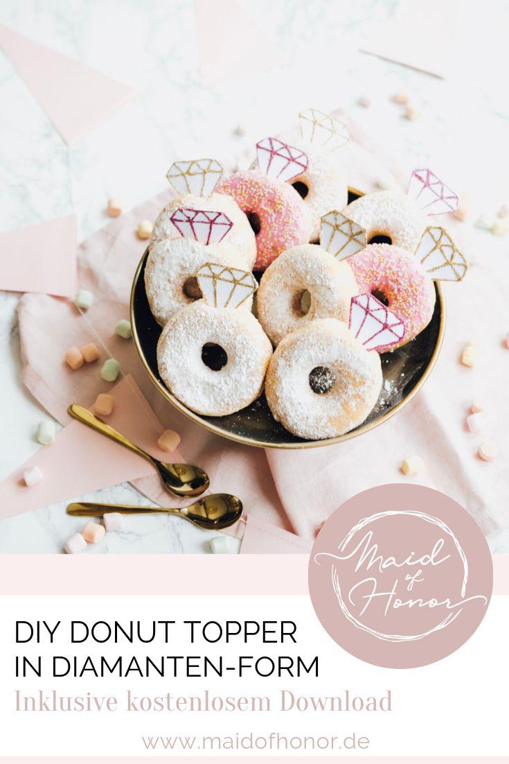 DIY Donut Topper