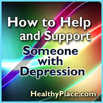 how to help someone with situational depression