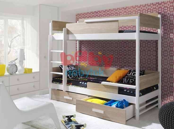 Ourbaby dětská patrová postel Modern - Dětské patrové postele