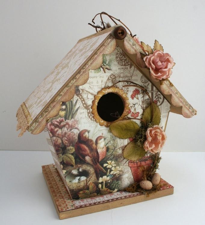 casa de passarinho scrap