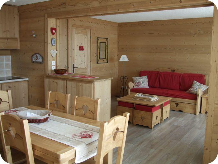 am nagement d co appartement montagne. Black Bedroom Furniture Sets. Home Design Ideas