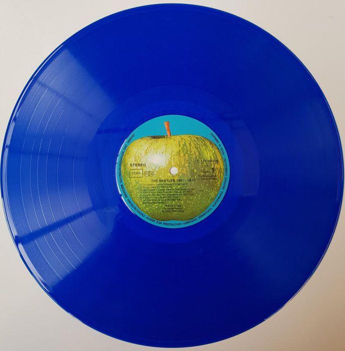 Catawiki online auction house: blue vinyl edition the Beatles 19967 -1970