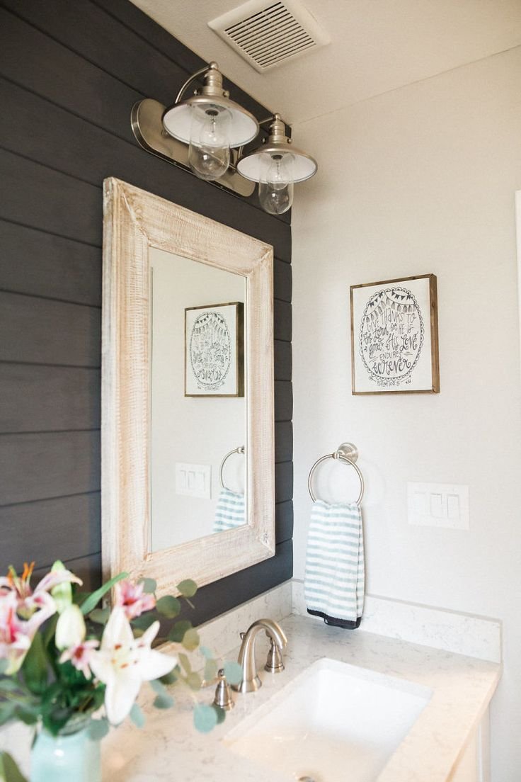 20 Amazing Bathroom Designs With Shiplap Walls