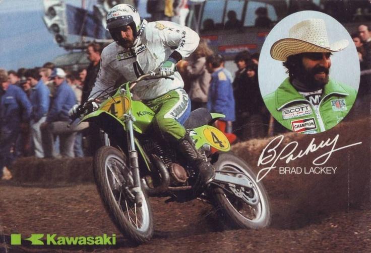 Kawasaki Motocross Riders