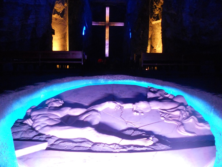 underground Salt Cathedral, ZIPAQUIRA Colombia