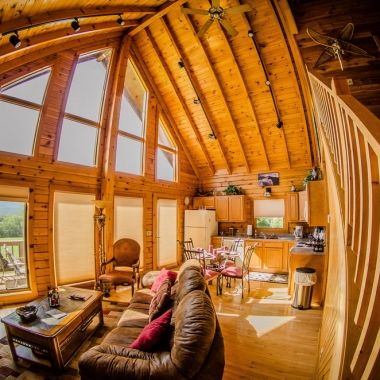 Bon Honeymoon Cabin Rentals WV, Romantic Getaway In West Virginia