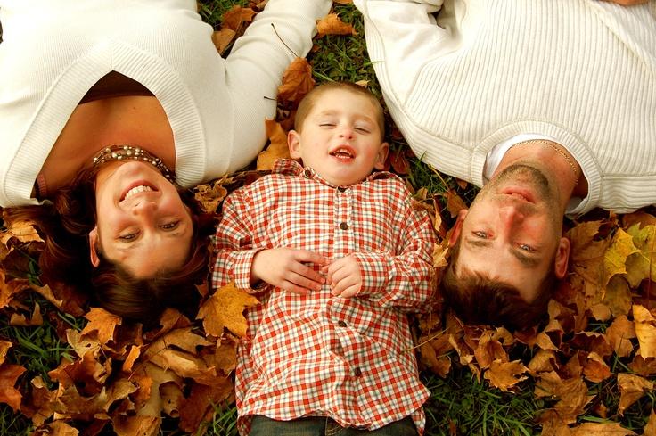 family fall photo