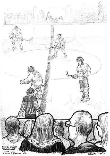 Sketchy Drawings: Hockey: India vs The World