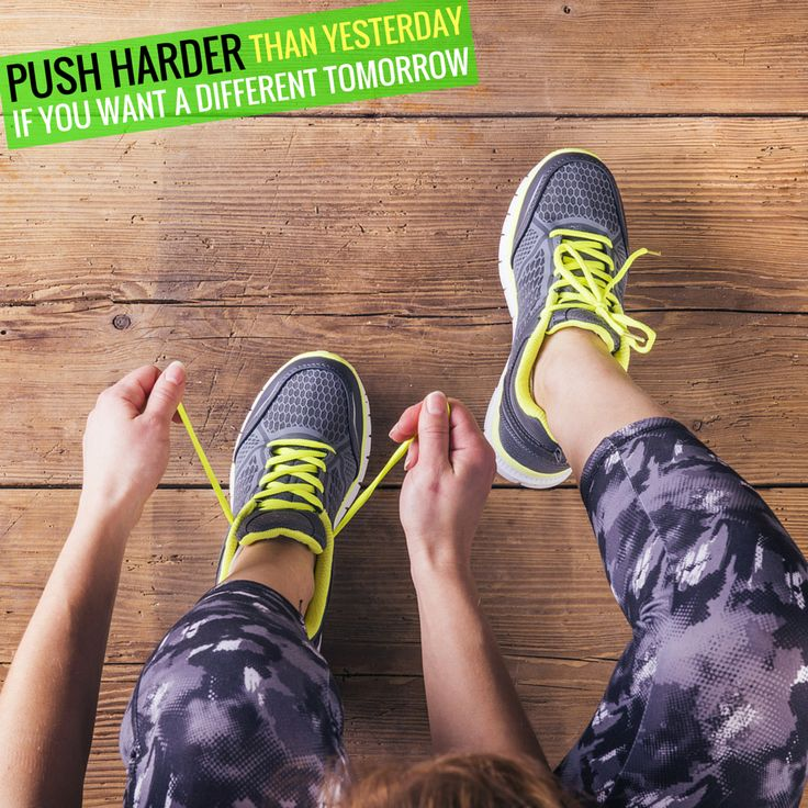 Push harder than yesterday if you want a different tomorrow. #goharder #staminade #inspiration