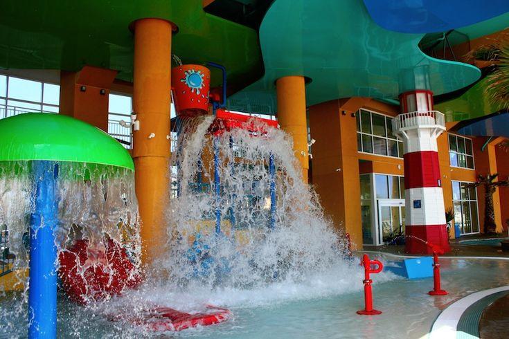 Splash resort Panama City Beach - splash pad, lazy river