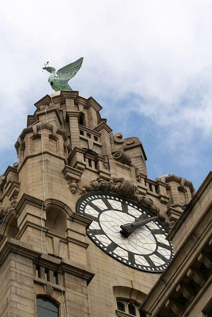 Royal Liver Building, Liverpool. I love this city.