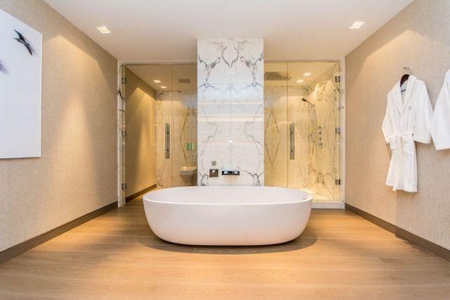 Luksusowe łazienki z marmurem