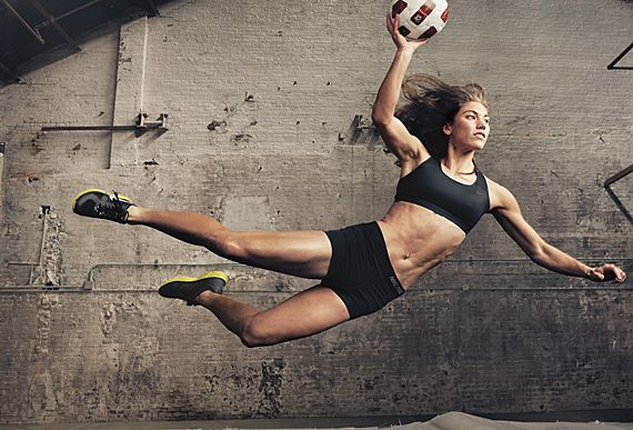 """Hope Solo, USA professional soccer goalkeeper, 2011 - Annie Liebowitz for Nike's """"Make Yourself"""" campaign"""