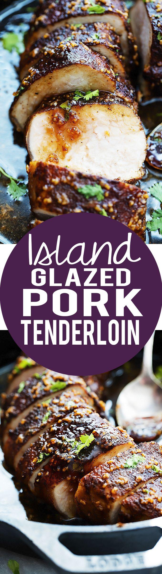 Island Glazed Pork Tenderloin