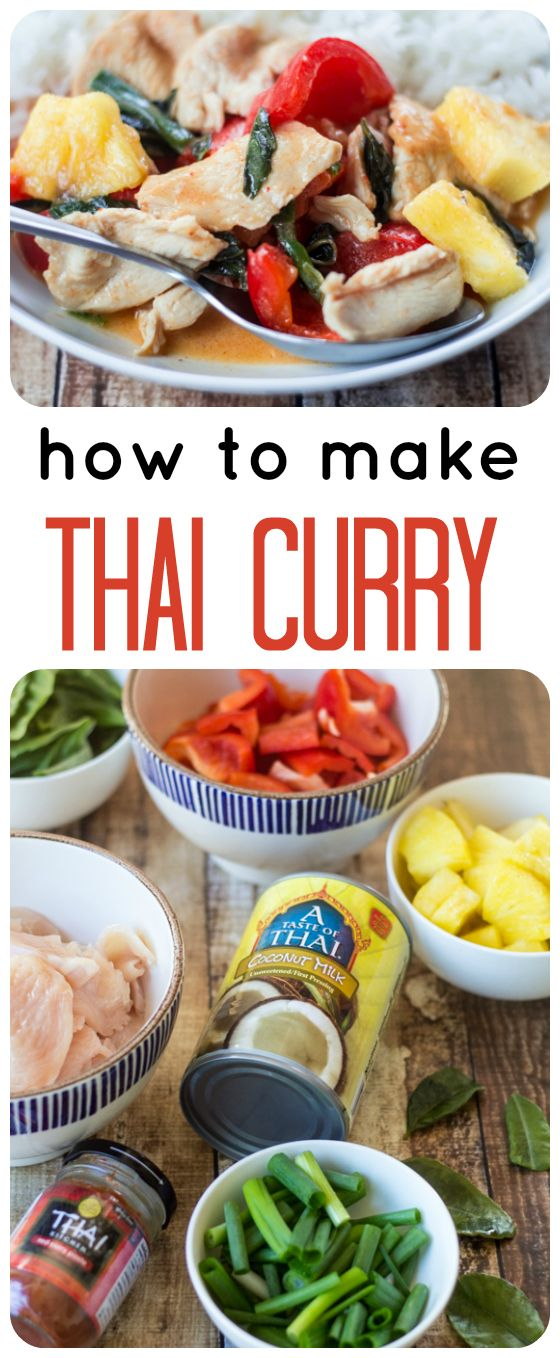 Ever wonder how to make Thai Chicken Curry? This easy tutorial will have you creating your favorite take-out recipes at home in no time!