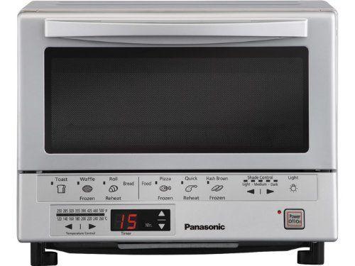 Panasonic Flash Xpress Toaster Oven, Silver