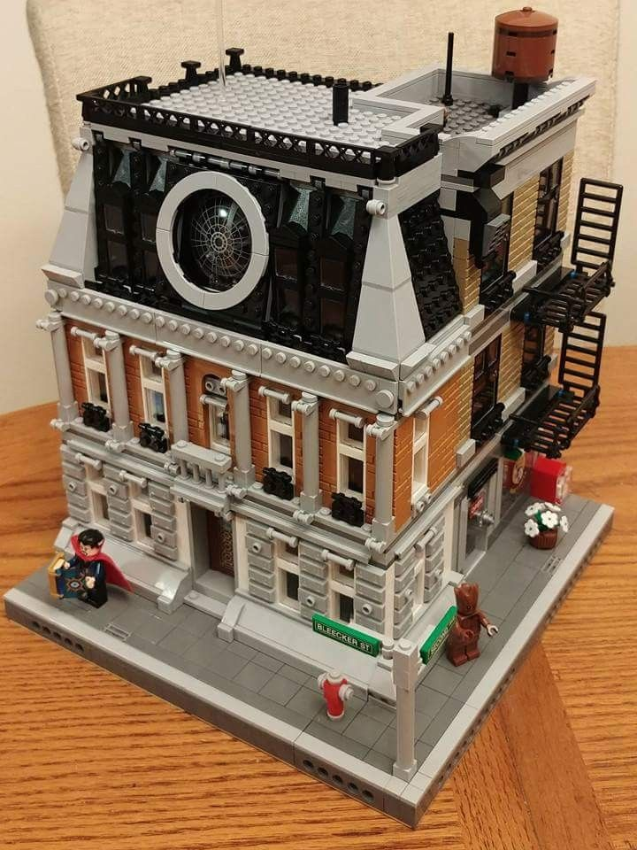 Dr Strange Sanctum Sanctorum Mod Legos Lego Modular Lego
