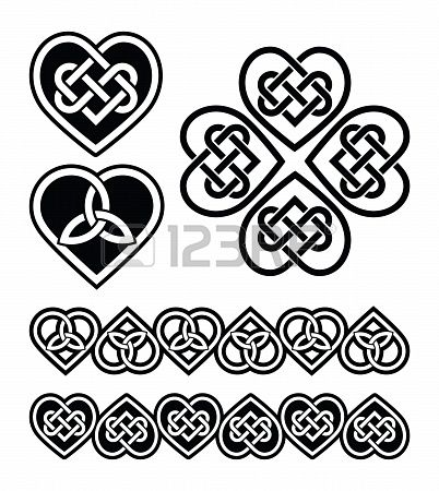 Celtic heart knot - pretty sure the heart containing 3 smaller hearts is my next tattoo