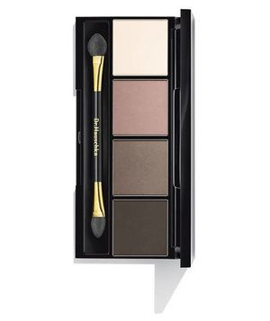 With four wearable shades in the palette, there are endless opportunities to mix and match. Each color also contains silk powder to protect sensitive skin, black tea extract to help tighten, and witch hazel to soothe. Use the darker shades on your crease and the lighter shades on your lid to help eyes appear more open and awake.