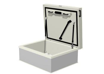 Dakluik 900x700 mm dl97zz 3d model van een standaard maatvoering dakluiken van staka - Ventilatie grot een vin ...