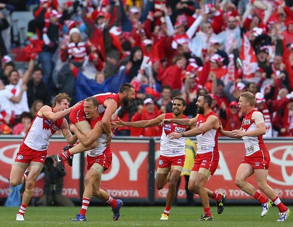 2012 AFL Grand Final - Sydney v Hawthorn