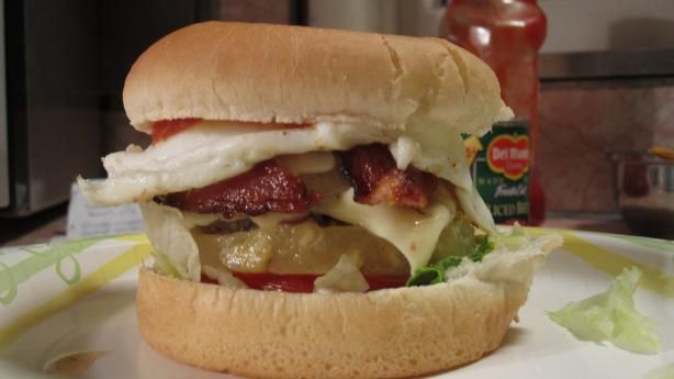 Hamburger Recipes : Aussie Burgers