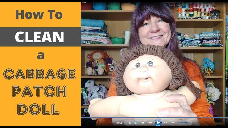 how to wash cabbage patch dolls