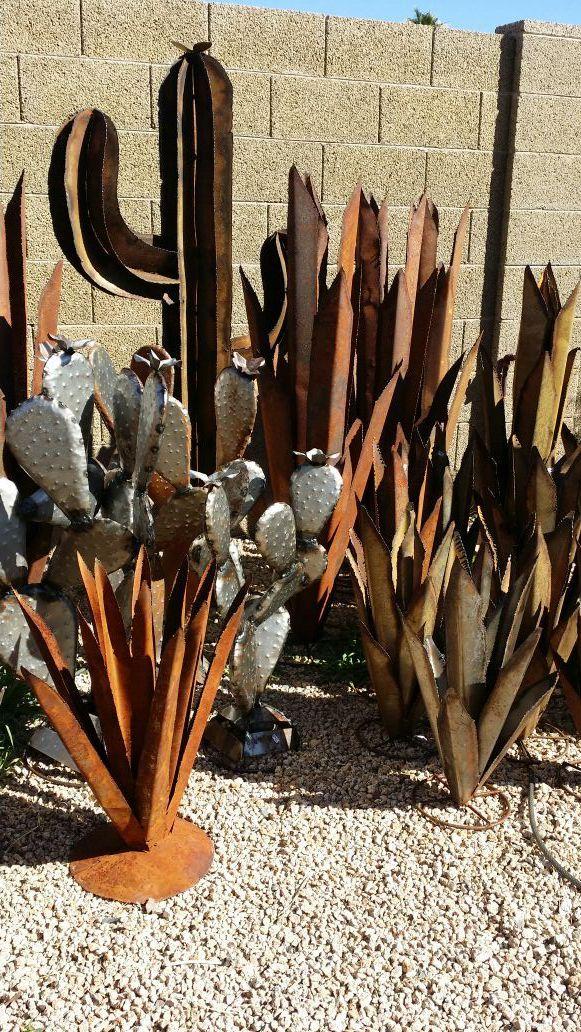 Offer Up Phoenix Az >> Variety Of Metal Cactus Yard Art For Sale In Phoenix Az