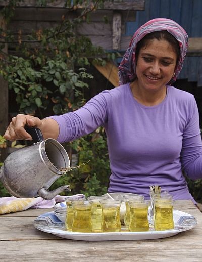 In Turkish culture, hospitality to visitors is a must. Sometimes it can be exaggerated that Turkish people are going overboard with hospitality.