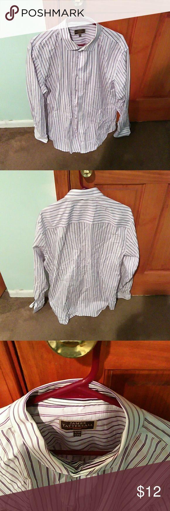 Men's casual dress shirt James Tattersall casual dress shirt James Tattersall Shirts