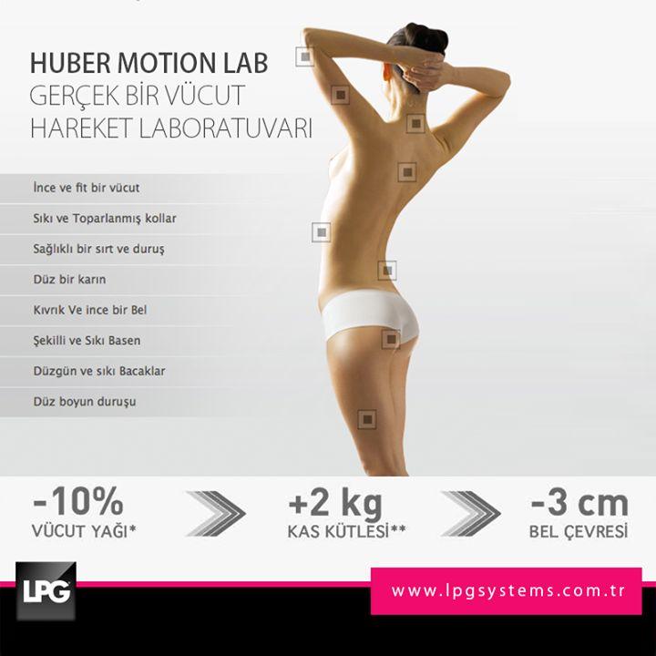 LPG Huber Motion'u keşfederek sağlık ve güzelliğin tadını çıkar!  www.lpgsystems.com.tr/products/hubermotionlab/index.php