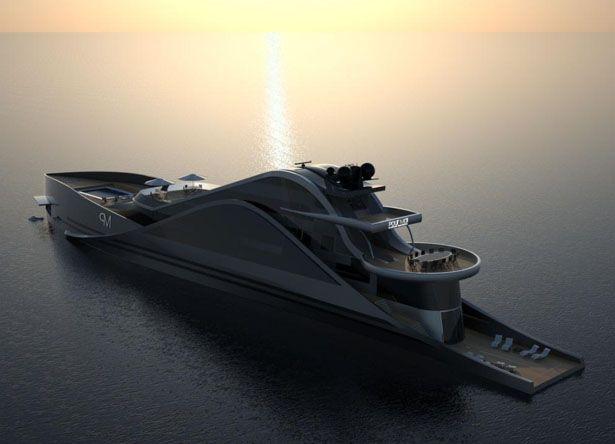 Futuristische luxusyachten  217 besten Yachts Bilder auf Pinterest | Superyachten, Boote und ...