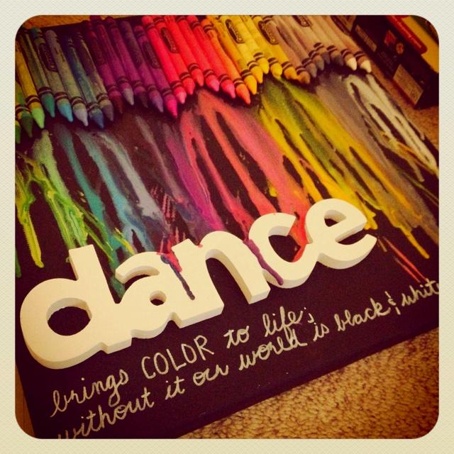 Crayon art #dance