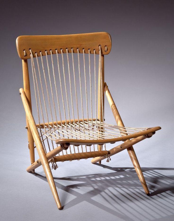 A Rare Maruni Japanese Rope Chair