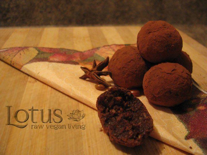 Star Anise Truffles...oh my; I love what I do!  lotus raw vegan living original recipe*