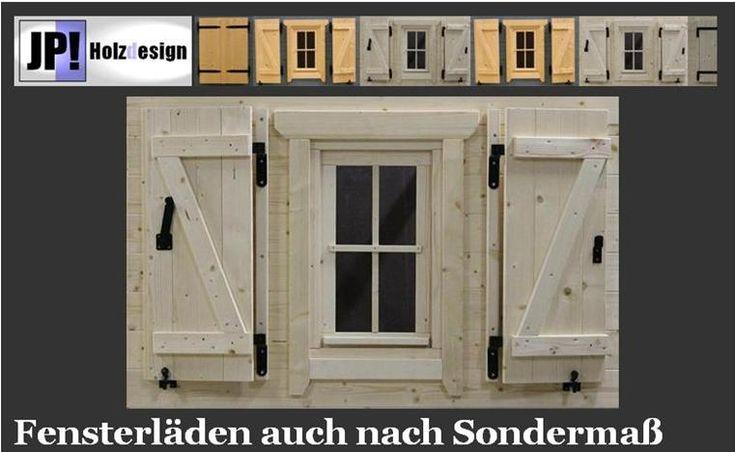 Fenster, Holzfenster, für Gartenhaus