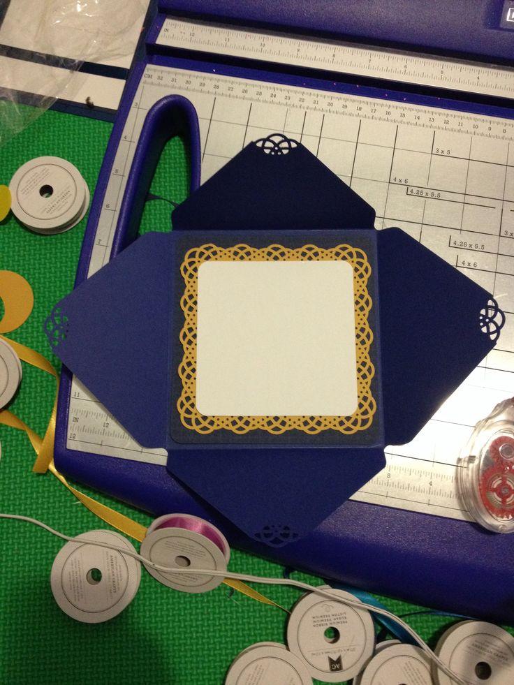 Starry night theme wedding invitation samples custom made