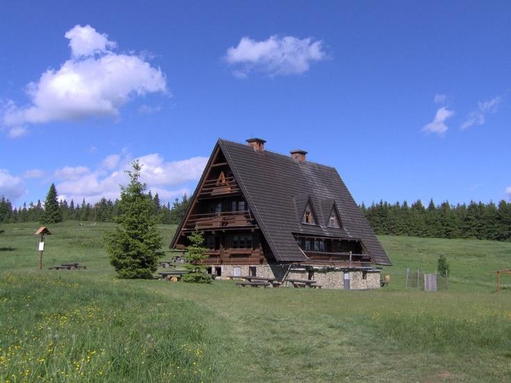 Krawców Wierch/Beskid Żywiecki - Bacówka na Krawcowym Wierchu: Mountain Shelters, Polish Mountain, Krawcowym Wierchu, Krawców Wierch Beskid, Wierch Beskid Żywiecki