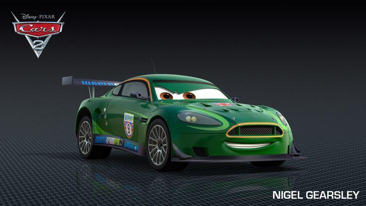 Pixar Cars Characters | Nigel Gearsley is a character in the Disney Pixar movie Cars 2