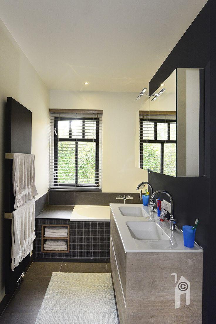 Badkamer op de verdieping