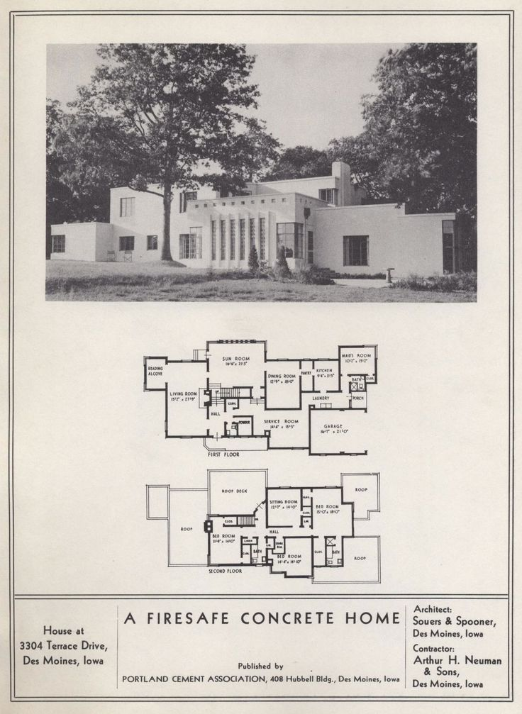 Portland Cement Architecture : Best images about homes art deco prairie style